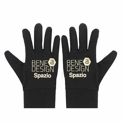 SPAZIO Logo Field Glove (Black*Gold)