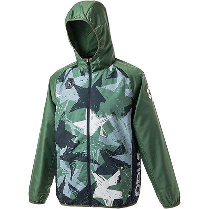 Back Brushed Star Camo Zip Hoodie Jacket (SA-20A17)