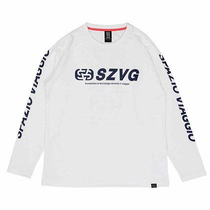 VIAGGIO Emboss Raised Back Long Practice Shirt (VG-0008)