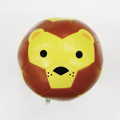 Football Zoo Baby Cushion Ball - LION