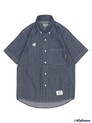 Half Sleeve Denim OX Shirt (DPZ-RX64)
