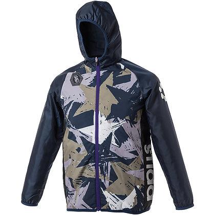 Jr. Back Brushed  Star Camo Zip Hoodie Jacket (SA-20A17JR)