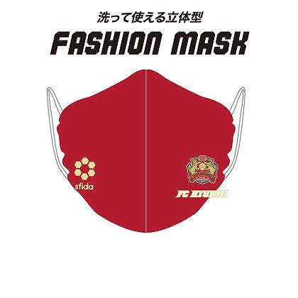 FC琉球 Washable Fashion Mask - Red (OSF-MA02)