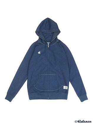 Denim Sweat Zip Hoodie (DPZ-RX38)