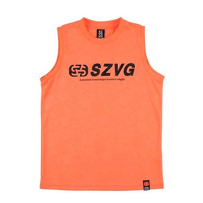 VIAGGIO Emboss No-Sleeves Shirt (VG-0023)
