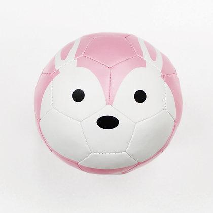 Football Zoo Baby Cushion Ball - RABBIT