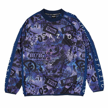 Back Mesh Collage Piste Shirt (GE-0617)