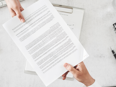 5 Things You Need to Have In Your Contract!