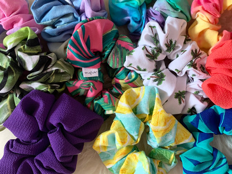 SCRUNCHIES & HOW THEY STOPPED MY HAIR FROM BREAKING