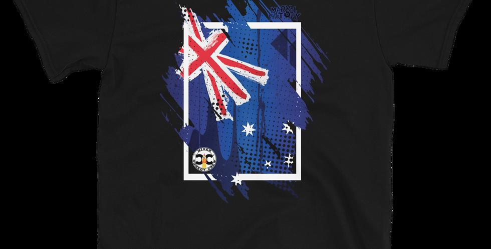 Mixer Comedy Crew Australia Wildfire Relief Short-Sleeve Unisex T-Shirt