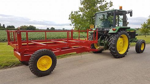 Refurbished Tractor Trailer