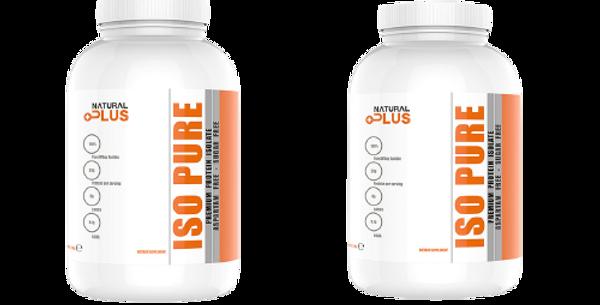 Cumpara ISO PURE protein 2kg  si primesti 50 % reducere la a 2 a cutie