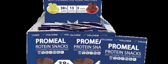 Promeal Protein SNAKS 38%- cu ciocolata