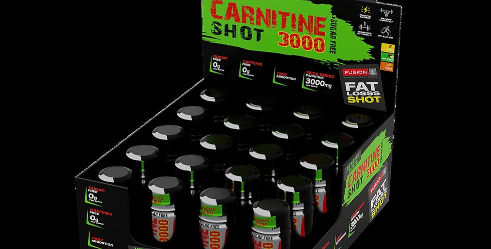 Carnitine 3000 shot, 20x60ml