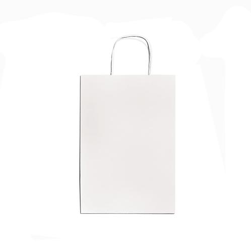 Sacos de asa torcida branco [10 unids.]
