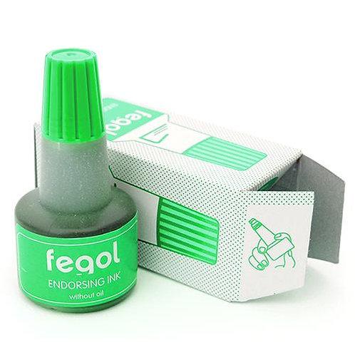 Recarga tinta carimbo [verde] 30ml