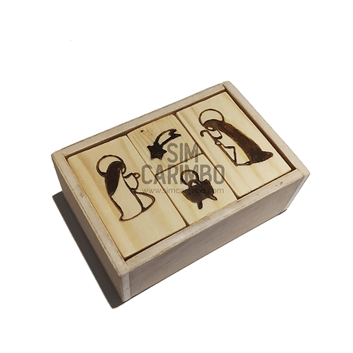 Caixa Presépio de Carimbos