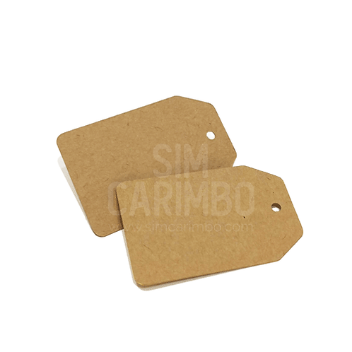 Etiquetas em papel kraft