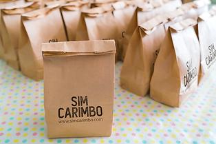 Carimbos personalizados embalagem cartuc