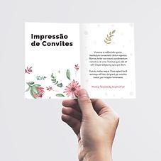 Impressão de convites