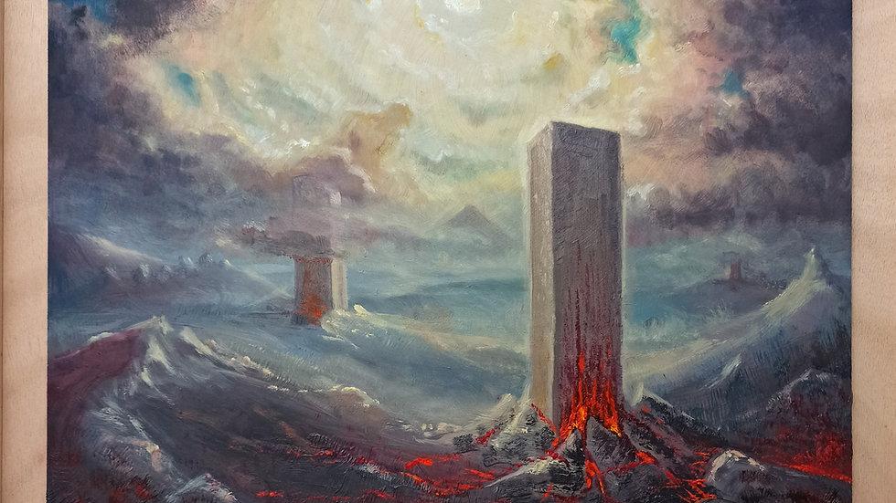 Monolith - Original Painting