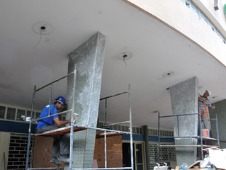 Obras irregulares no condomínio