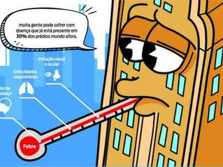 Prédios irregulares podem esconder a Síndrome do Edifício Doente