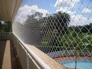 As redes de proteção para edificações