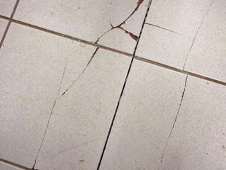Cuidado na aplicação do piso