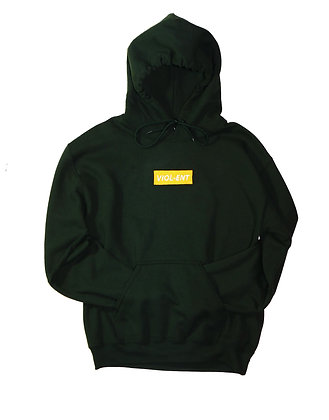 Limited Edition: VIOL-ENT Forrest's Gold Box Logo Hoodie
