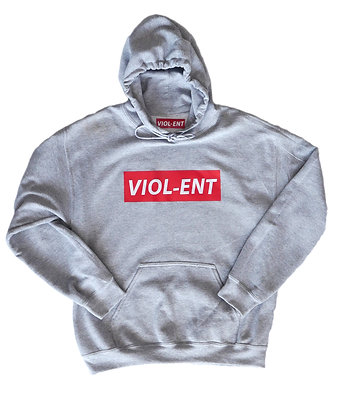 Limited Edition: VIOL-ENT Textured Hoodie