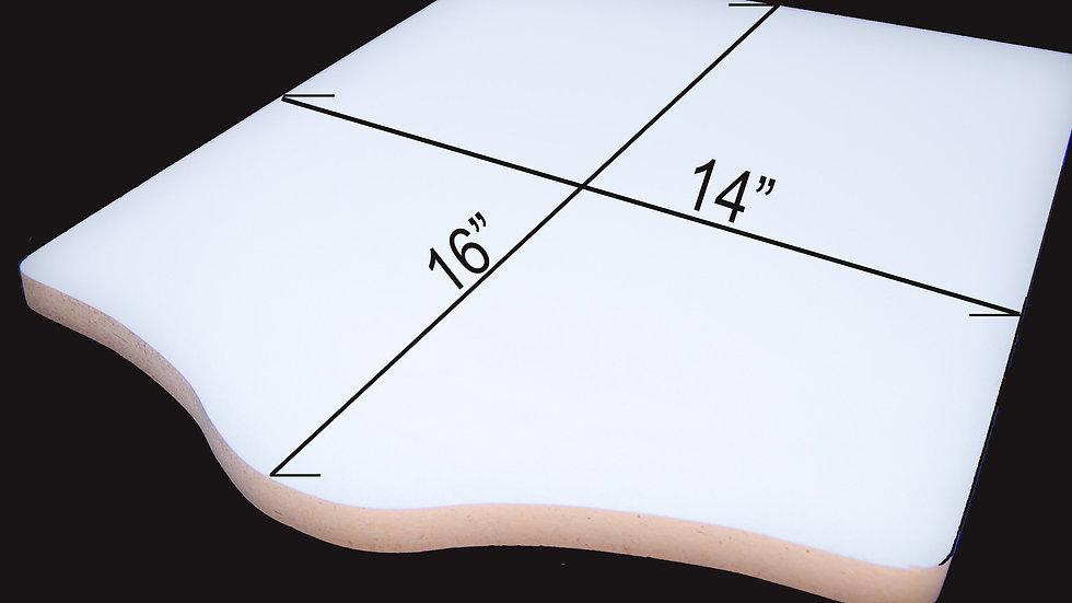 "Screen Printing Platten Board 3/4"" thick 14"" x 16"""