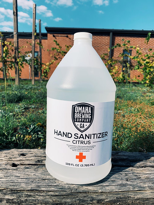 1 Gallon Jug Hand Sanitizer