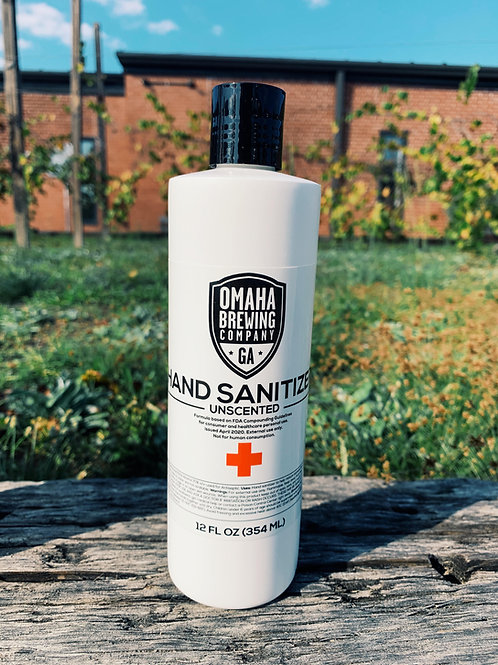12oz Bottle of Hand Sanitizer
