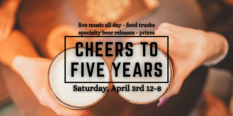 OBC's Taproom is Turning 5!