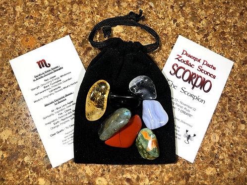 Scorpio Zodiac Stones Set