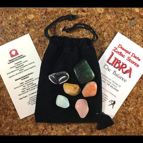 Libra Zodiac Stones Set