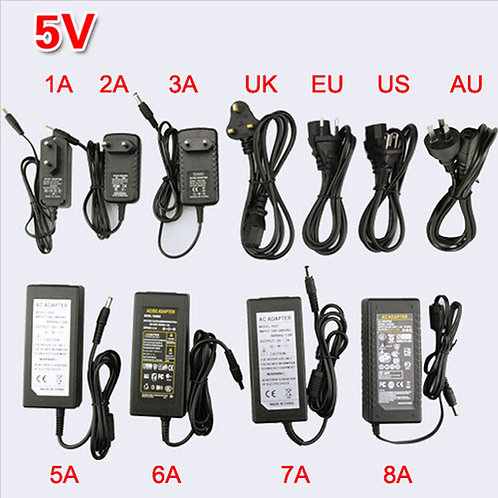Transformador de corrente eléctrica 5V 2A