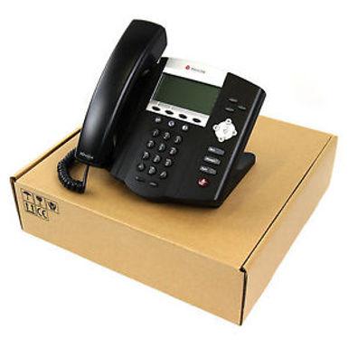 IP Phone Polycom IP450 PoE LAN HD Voice - Recondicionados