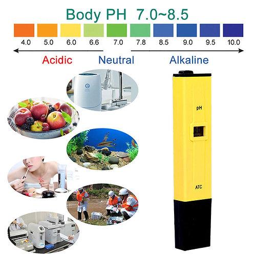 Testador de PH – Testa a qualidade da água potável, aquários, piscinas e etc.