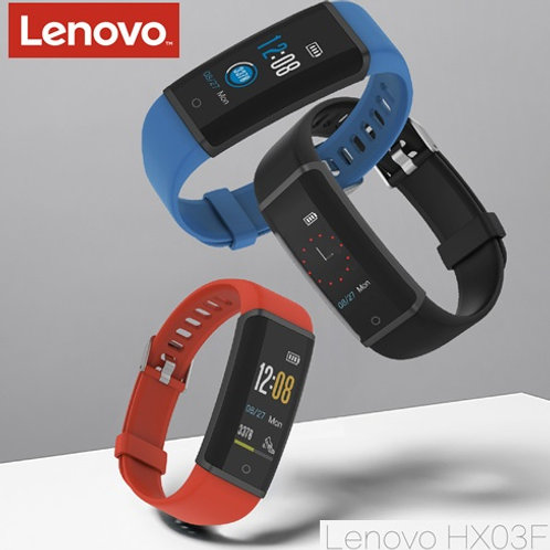 Relógio Inteligente LENOVO HX03F c/Bluetooth 4.2 p/ Android e iOS