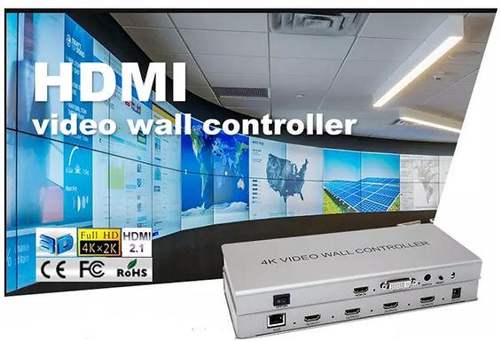Controlador HDMI de Video Wall SOFLY para 4 ecrãs