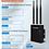 Thumbnail: Roteador e Ponto de acesso GSM 3G 4G LTE  Sim Card Wifi Exterior COMFAST CF-E7