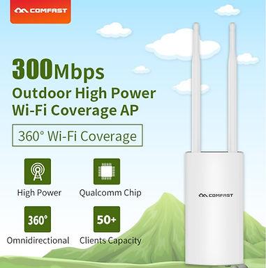 Ponto de acesso sem fio exterior de alta potência CF-EW71 AP 300 Mbps