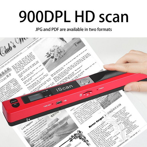 Scanner portátil compacto iScan