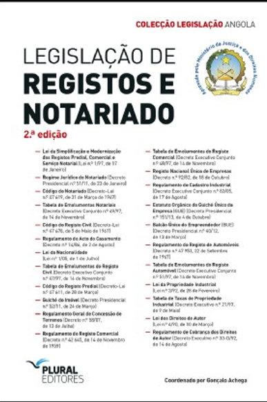 Legislação de Registos e Notariado de Angola