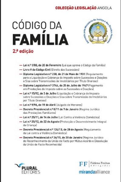Código da Família - Angola - versão académica