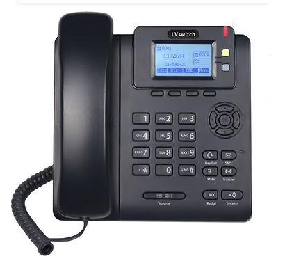 IP Phone LVswitch SIP T780 com função de interruptor e 2 contas SIP - novo