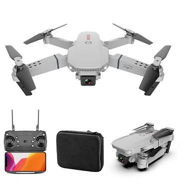 Drone E88 4k HD c/câmera grande angular WiFi 1080p c/transmissão em tempo real