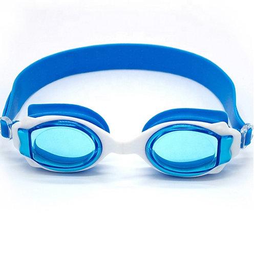 Óculos de natação anti-neblina ajustável para crianças